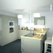 deco cuisine blanc et deco cuisine blanche et bois cuisine chic et classique en noir et
