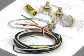angela premium wiring kit for fender jazz bass with copper cap