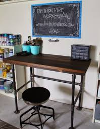 Diy Pipe Desk by 10 Diy Industrial Desk Tutorials For Your Home Office My Diy Envy