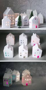 White Christmas Paper Decorations by 16 Diy White Christmas Decorations For The Home Coco29