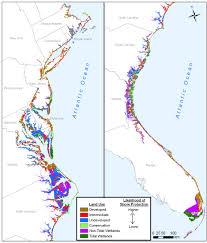 Map Of Florida East Coast by Sea Level Rise Planning Atlantic Coast Figure2 Jpg