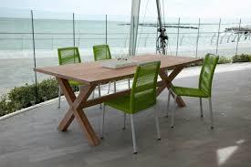 tavolino da terrazzo tavolo da giardino in legno massello di mango h18635