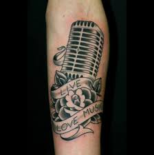 family microphone tattoo in 2017 real photo pictures images and
