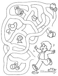 Jeu coloriage labyrinthe  Labyrinthes à colorier  Coloriages