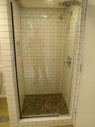 stone tile shower small bathroom decoration using small bathroom