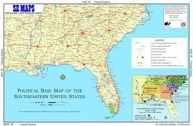 Georgia South Carolina Map South East United States Garmin Compatible Map Gpsfiledepot Large