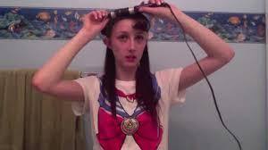 sailor moon hair tutorial youtube