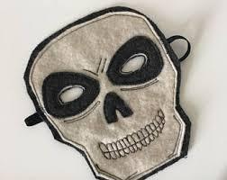 Skeleton Mask Skull Mask Etsy