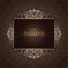 abstract background with exclusive antique luxury vintage gold
