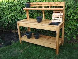 ideas garden potting bench plans potting bench with sink
