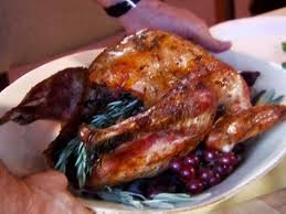 whole cooked turkey whole roasted turkey with citrus rosemary salt recipe michael