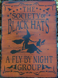 witchcraft black hat society witches primitive witch signs