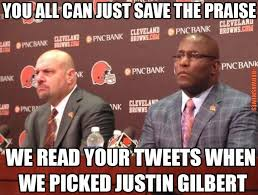 Manziel Meme - mike pettine justin gilbert ray farmer cleveland browns memes sports