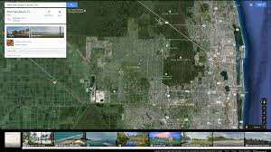 Florida Google Maps by West Palm Beach Florida Map