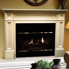 56 u0027 u0027 classique unfinished fireplace surround by pearl mantels
