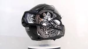 shark motocross helmets shark evoline serie 3 mezcal chrome youtube