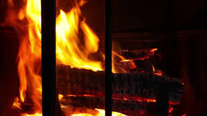 Sparks Fireplace - fire smoke sparks from equipment in metallurgical factory stock