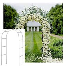 wedding arch kit for sale adorox 7 5 ft lightweight white metal arch wedding