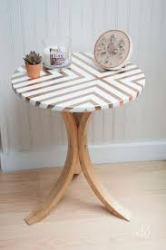 side table paint ideas creative diy painted furniture ideas hative