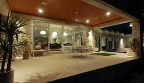 Modern Patio Lighting Knollwood Remodel Exterior Modern Patio By