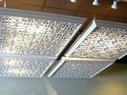 replacement light covers for fluorescent lights cover fluorescent ceiling lights kitchen fluorescent ceiling lights