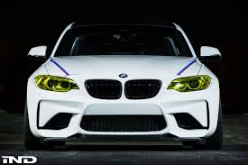 bmw m4 headlights ind introduces the m2 and m4 projects for sema 2016