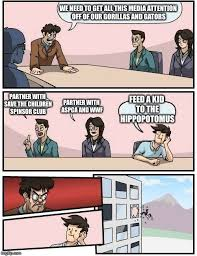 Aspca Meme - boardroom meeting suggestion meme imgflip