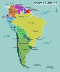 Patagonia South America Map by America Map Map Of South America South America Countries Rough