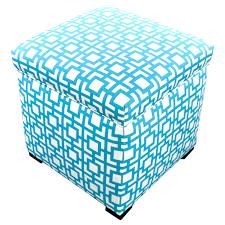 Navy Blue Storage Ottoman Sofa Cube Ottoman Navy Blue Ottoman Leather Pouf Ottoman Storage