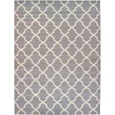12 By 16 Area Rugs Unique Loom Trellis Gray 12 Ft 2 In X 16 Ft Area Rug 3117592