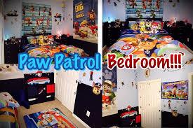 Paw Patrol Room Decor Paw Patrol Bedroom Decor Money Saving Ideas