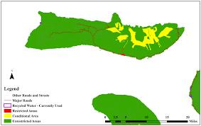 Molokai Map Environmental Health Environmental Geographic Information System
