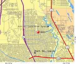 port st fl map 34983 zip code port st florida profile homes