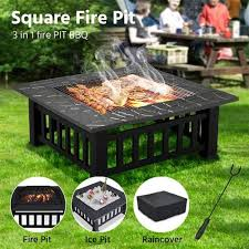 infinite heat solutions deck protect fire pit pad