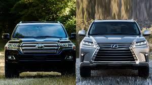 lexus toyota chassis 2016 toyota land cruiser vs 2016 lexus lx 570 youtube