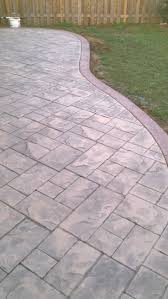 Patio Concrete Designs Best 25 Stamped Concrete Patios Ideas On Pinterest Stamped