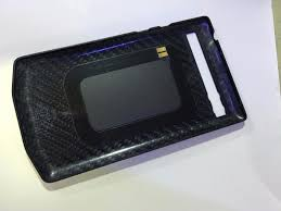 porsche design blackberry porsche design leather battery door cover black for blackberry p