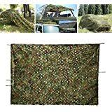 Camo Netting Curtains Ginsco 6 5ft X 10ft 2mx3m Woodland Camouflage Netting