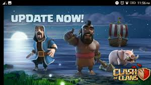 clash of clans update new island builders island youtube