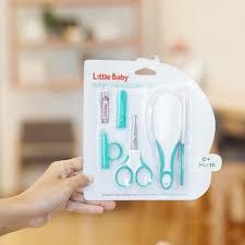 Sisir Bayi jual baby manicure set paket ekonomis gunting kuku dan sisir