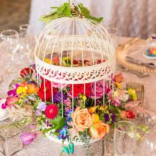 birdcages for wedding decorative birdcage wedding card holder or wishing well