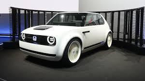 Honda Urban Honda Urban Ev Concept Is A Charming Personal City Car