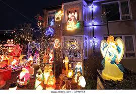 garden lights christmas uk stock photos u0026 garden lights christmas