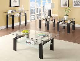 coffee table charming glass coffee table sets inspiring brown
