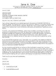 registered nurse resume cover letter template letter idea 2018