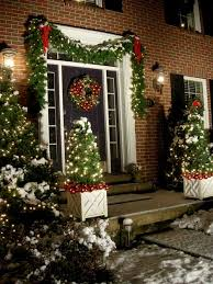 Christmas Garland Decorating Ideas by Opulent Outdoor Christmas Garland Decorating Ideas Stylist Top