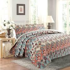 Bohemian Style Comforters Bohemian Bedding Set Wayfair