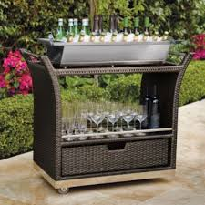 patio beverage cooler cart ultimate serving cart decking and outdoor with regard to beverage