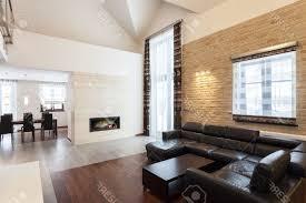 Living Rooms With Dark Brown Leather Furniture White Fabric Sleeper Sofa Using Brushed Nickel Base Dark Brown