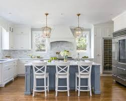 what color to paint kitchen island with white cabinets why painted kitchen islands are trending from houzz the